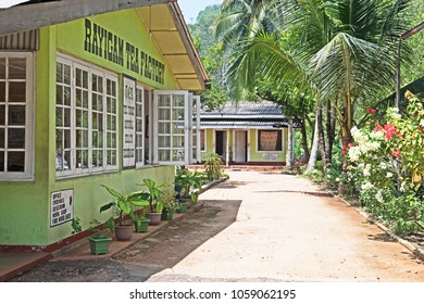 Colombo, Sri Lanka - March 4 2018: Exterior view of the Rayigam tea factory.