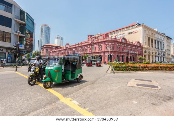Colombo Sri Lankamarch 24 2016 Building Stock Photo (Edit
