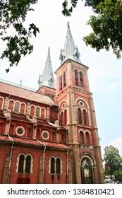 Colonial arquitecture in Saigon, Vietnam