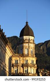 Colonial building in Bogota