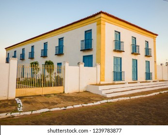 Colonial building in the historic center of Oeiras - the first capital of Piaui state (Brazil)