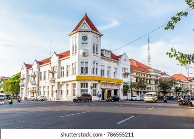 Colonial building  in Surabya