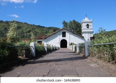 Colonial Church Orosi, Cartago, Costa Rica