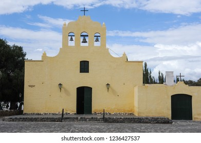 The colonial church of San Jose at Cachi on Argentina andes