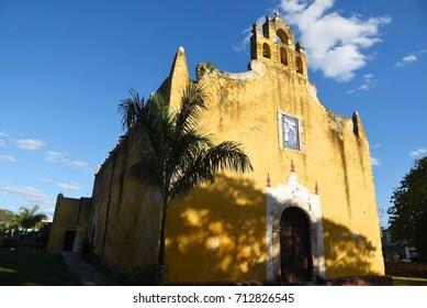 Colonial church,Valladolid,Mexico