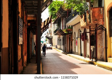Colonial city of Panama, built during the years 1673 and which today is considered a Historical Monument worldwide.