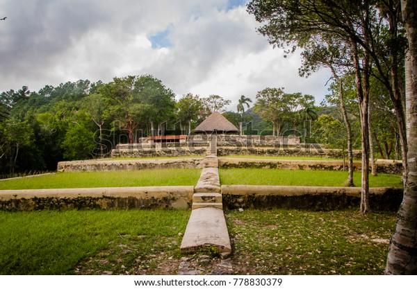 Colonial Coffee Plantation Buenavista Las Las Stock Photo