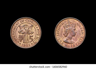 Colonial coin of Cyprus in time of British administration