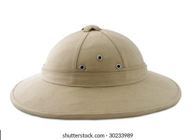 colonial cork helmet