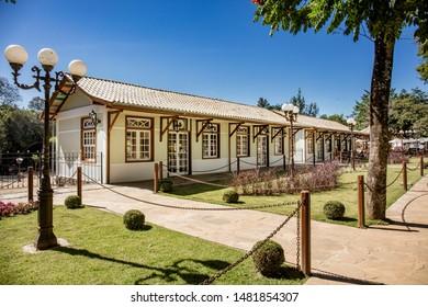Colonial house in historic city Tiradentes, Minas Gerais, Brazil