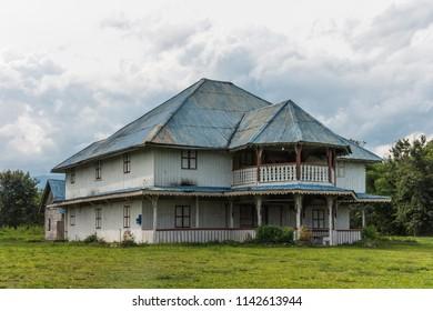 Colonial House (Rumah Sedomon) in Keningau District, Sabah, Malaysia
