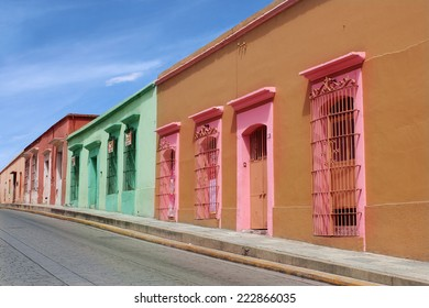 Colonial Street in Oaxaca