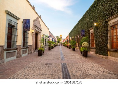 colonial street of tequila in guadalajara jalisco in pais de mexico