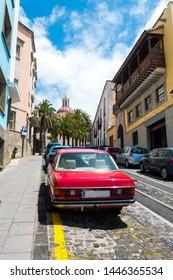 colonial town of la orotava in tenerife, Spain