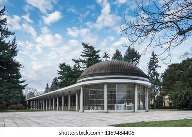 Colonnade in Poděbrady - Shutterstock ID 1169484406