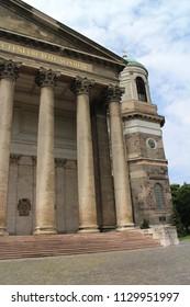 Colonnade of Esztergom basilica, Esztergom, Hungary
