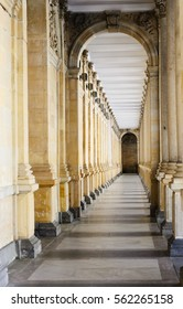Colonnade in Karlovy Vary, Czech republic