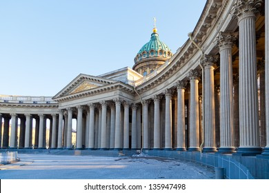 Colonnade of the Kazan Cathedral, St. Petersburg, Russia