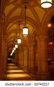 Colonnade at Vienna State Opera