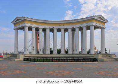 Colonnade at Vorontsov Palace in Odessa,  Ukraine