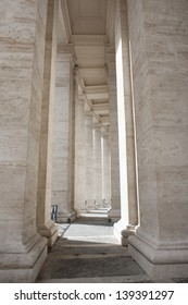 Colonnades in San Peter's