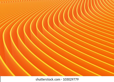 color abstract stripe background 3d