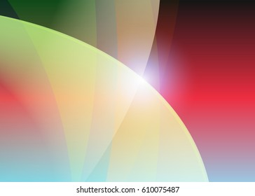 Color abstract template for card or banner. Abstract background for design and illustration