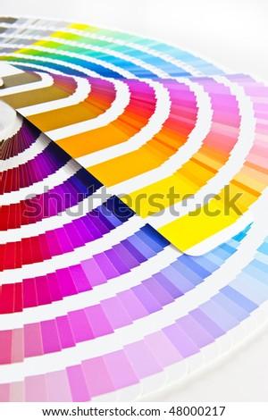 Color Chart Pantone Colour Formula Guide Stock Photo Edit Now