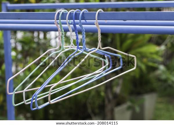 color clothes hanger
