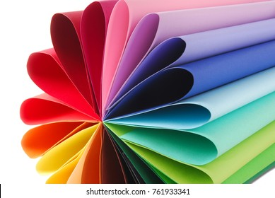 color colorful paper texture folded