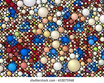 color dot pattern abstract background