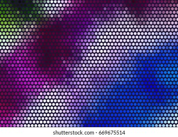 color dot pattern gradient background  - Tie and Dye gradient style