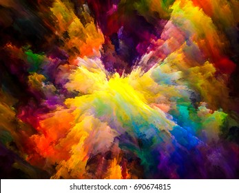 Color Design Art : Tragedy color series background design pure stock illustration