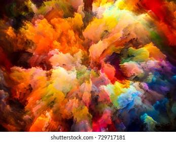 Color Design Art : Color explosion series backdrop colorful streaks stock