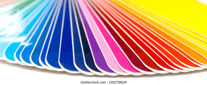 Color Fan Panorama / Colored Adhesive Films