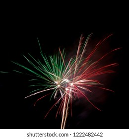Color firework burst