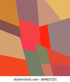 Color Fracture Mosaic