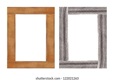 Color full knitted border