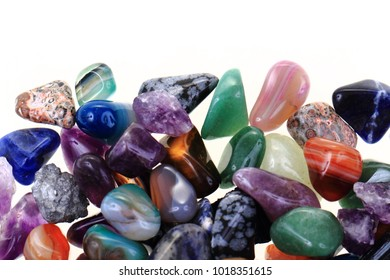 color gems texture as nice natural mineral background