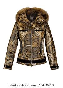 color girl fashion autumn jacket