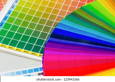 color guide and color fan
