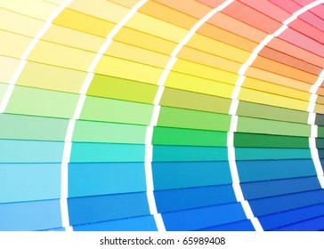 Color guide for selection