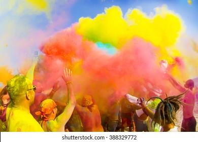Color Holi festival