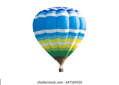 color of hot air balloon.