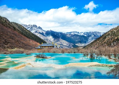 Color in Jiuzhaigou
