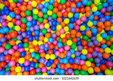 Color kids balls