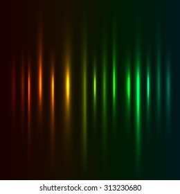 Color light strokes background.