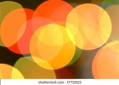 color lights background