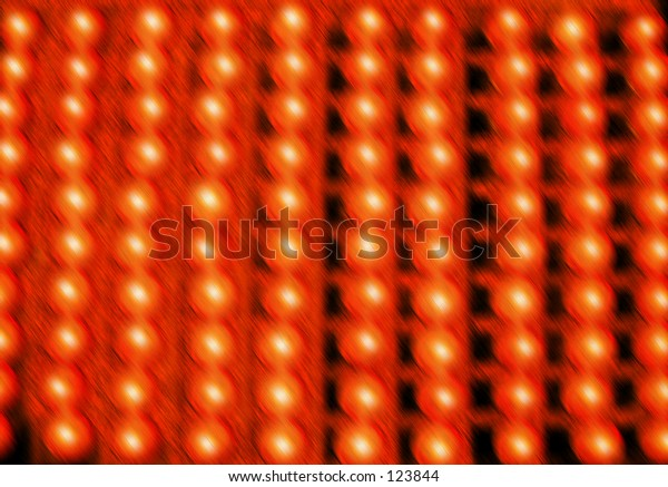 Color lights red transformed digitally bright shine pattern design