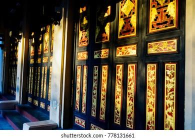 Color of Old wooden door
